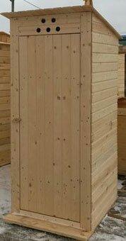 купить деревянный туалет